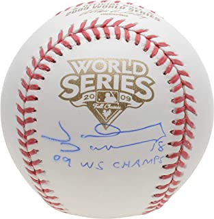 johnny damon autographed baseball