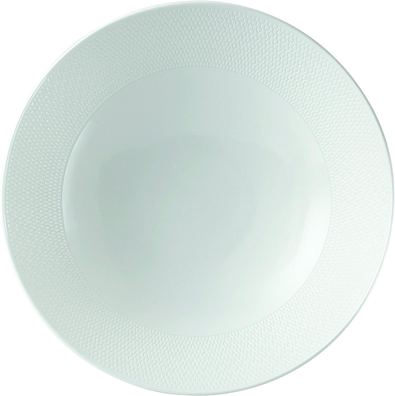 Wedgwood 40023848 Gio Serving Bowl 11 , White