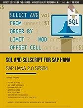 SAP HANA 2.0 SPS04 - SQL and SQLScript for SAP HANA