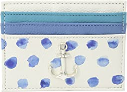 Brighton Blue Water Card Case