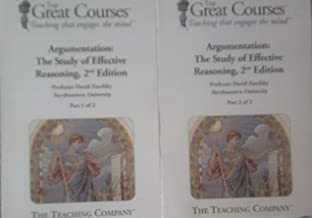 Great Courses Argumentation Parts 1 and 2: The Study of Effective Reasoning (2nd edition) Transcript and Course Guidebooks
