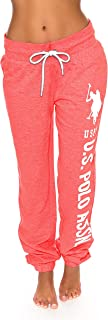 Womens French Terry Jogger Lounge Sleep Sweatpants Pajamas