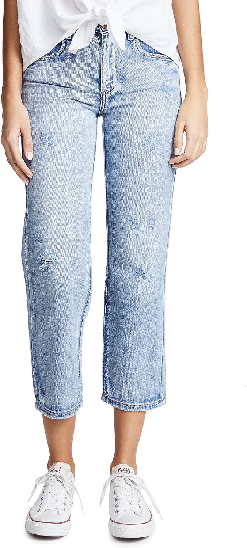 [BLANKNYC] Blank Denim Women's Cropped Straight Leg Jeans