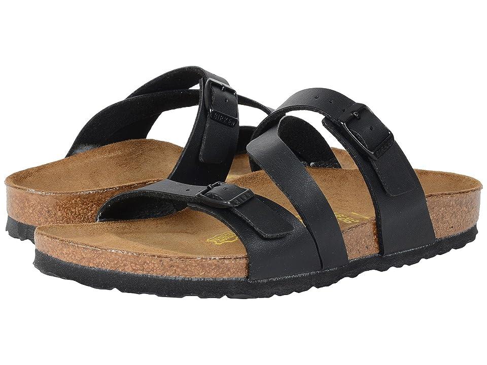 Birkenstock Salina (Black Birko-Flortm) Women's Sandals