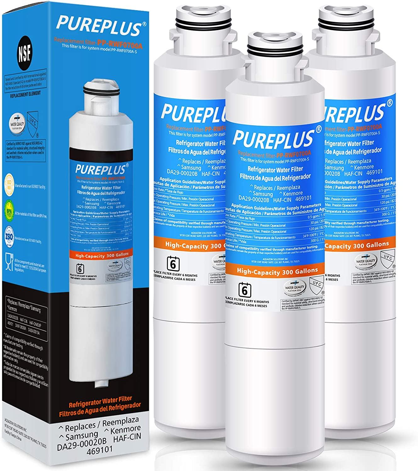 PUREPLUS DA29-00020B Refrigerator In Ranking TOP12 a popularity Water Replacement S for Filter