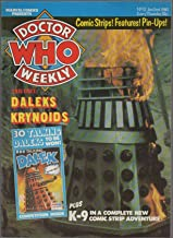 Doctor Who Weekly, no. 12 (January 2nd 1980): Lalla Ward pin-up, City of the Damned, Krynoids, Tales from the Tardis: H.G. Wells's Invisible Man, Dalek Invasion of Earth, Carole Ann Ford profile, K-9