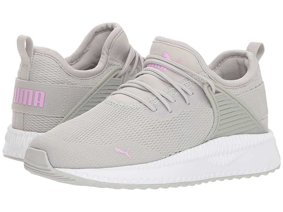 Puma Kids Pacer Next Cage AC (Little Kid/Big Kid) (Gray Violet/Orchid) Girl