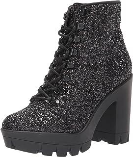 Jessica Simpson Women's Mistah Combat Boot, Black, 6