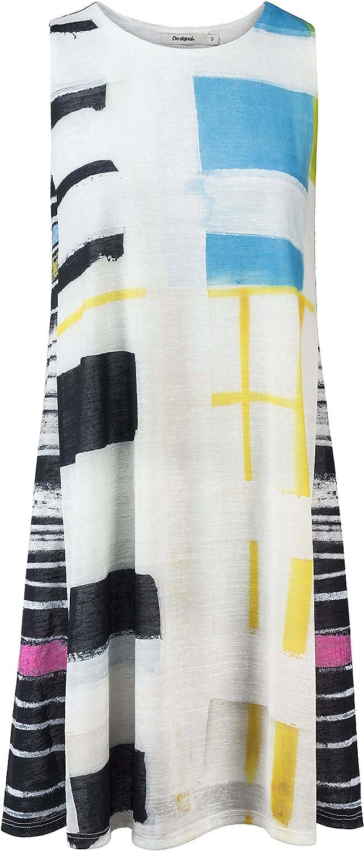 Desigual Dress  Filiberto  18SWVKB8 (White)