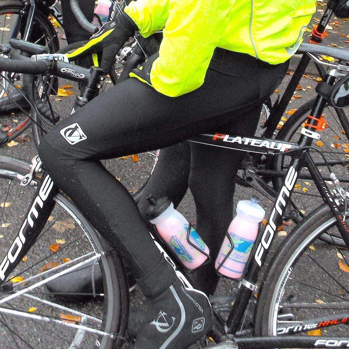 VeloChampion Fahrrad-Tr/ägerhose mit Thermo Tech-Winterfleecefutter und Airflow-Chamois-Polster Ideal f/ür das Winterradfahren