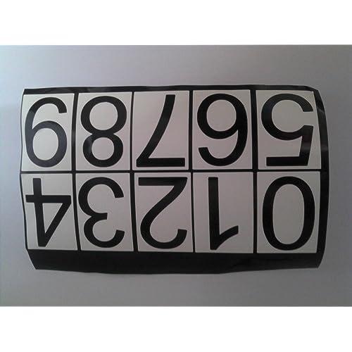 Letters workshop .// house numbers office numbers  door numbers  bin numbers