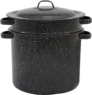 Granite ware 7.5-quart Blancher 3-piece set stock pot