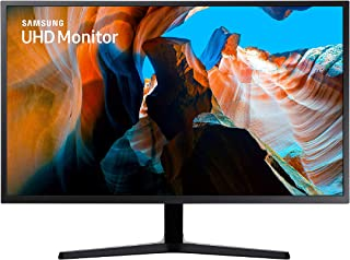 Samsung U32J592 - Monitor de 32'' (4K, 4 ms, 60 Hz, FreeSync, Flicker-Free, LED, VA, 16:9, 3000:1, 270 cd/m², 178°, HDMI, Base en V) Negro