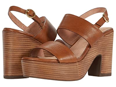 Seychelles Pleased (Tan Leather) Women