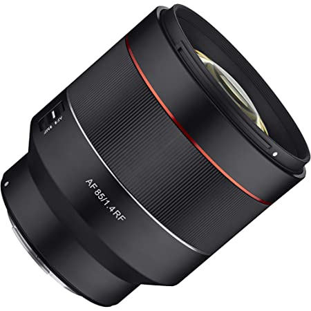 Samyang AF 85mm F1.4 Weather Sealed High Speed Auto Focus Lens for Canon EOS R Cameras - RF Mount (SYIO85AF-RF)