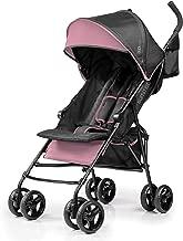 Summer Infant 3D Mini Convenience Stroller, Pink/Black