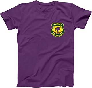 Pawnee Goddesses Patch Funny Classic Retro Camp Show Humor Mens Shirt