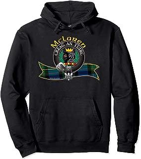 Scottish McLaren Clan Tartan Crest motto Creag an Tuirc