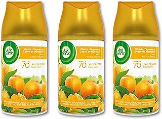 Air Wick Desodorisant Maison Recharge Diffuseur Freshmatic Plaisir d'Agrumes 250 ml - Lot de 3