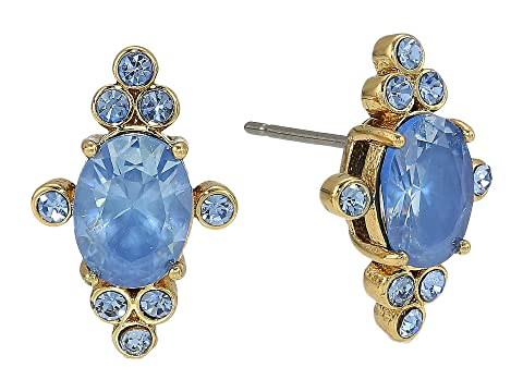 Kate Spade New York Rise and Shine Oval Studs
