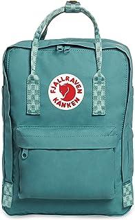 Fjallraven Kanken 13 Laptop Backpack One Size Frost Green Chess Pattern