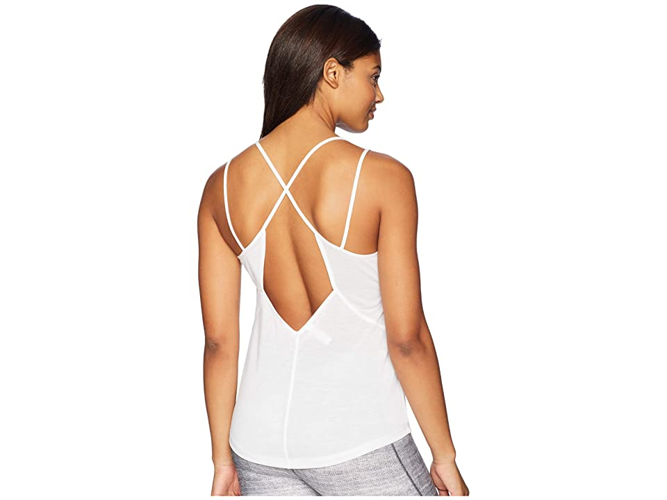 Under Armour UA Whisperlight Tank Top (White/White/Tonal) Women