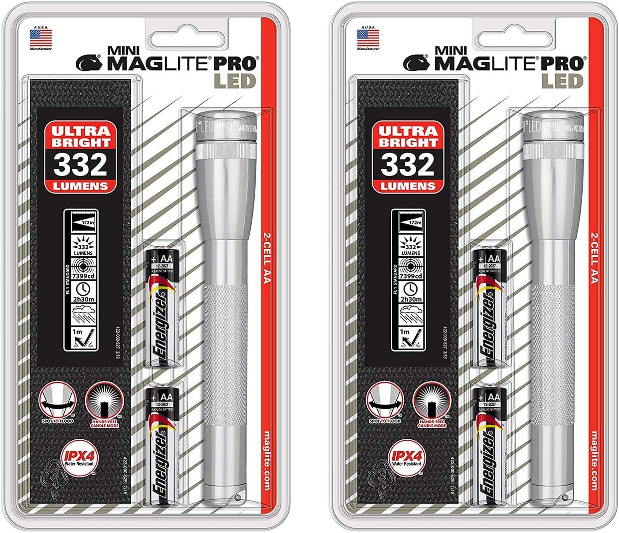 Maglite Mini 2xaa Pro Noir DEL Lampe torche Mag-lite