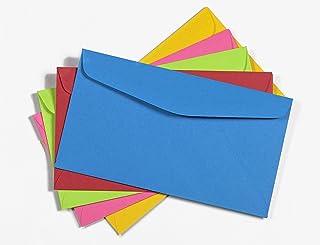 6 3/4 Envelopes Color Pack - 24 lb. Starburst Paper Small Envelope Pack