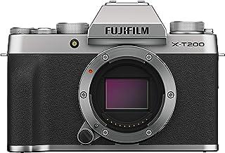 Fujifilm X-T200 - Kit cámara con objetivo intercambiable XC15-45/3.5-5.6 PZ color plata