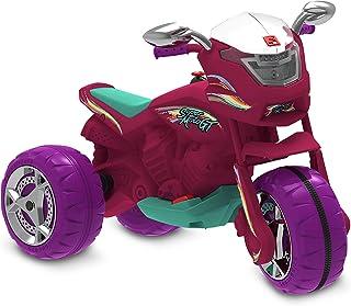 Super Moto Gt (pink) Eletrica 6v Bandeirante Pink