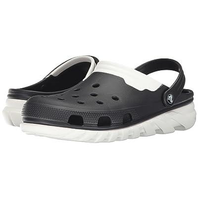 Crocs Duet Max Clog (Black/White) Clog Shoes
