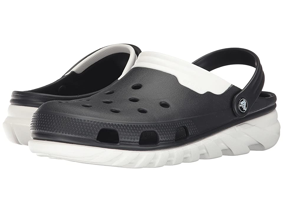 Crocs Duet Max Clog (Black/White) Clog Shoes