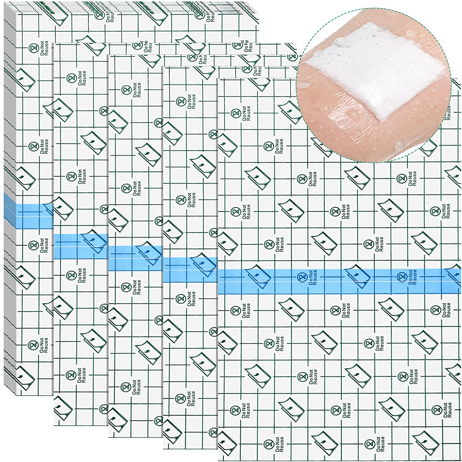 36 Sheets Adhesive A surprise price is realized Waterproof Stretch Bandage free Cover Transparent