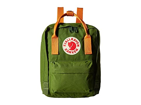 Mini Burnt Kånken Orange Leaf Fjällräven Green gq1Y5w