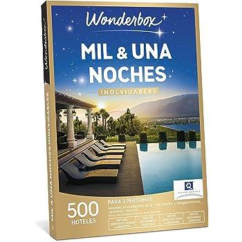 WONDERBOX Caja Regalo - MIL & UNA Noches INOLVIDABLES - 500 hoteles en España y Europa para Dos Personas.: Amazon.es: Jardín
