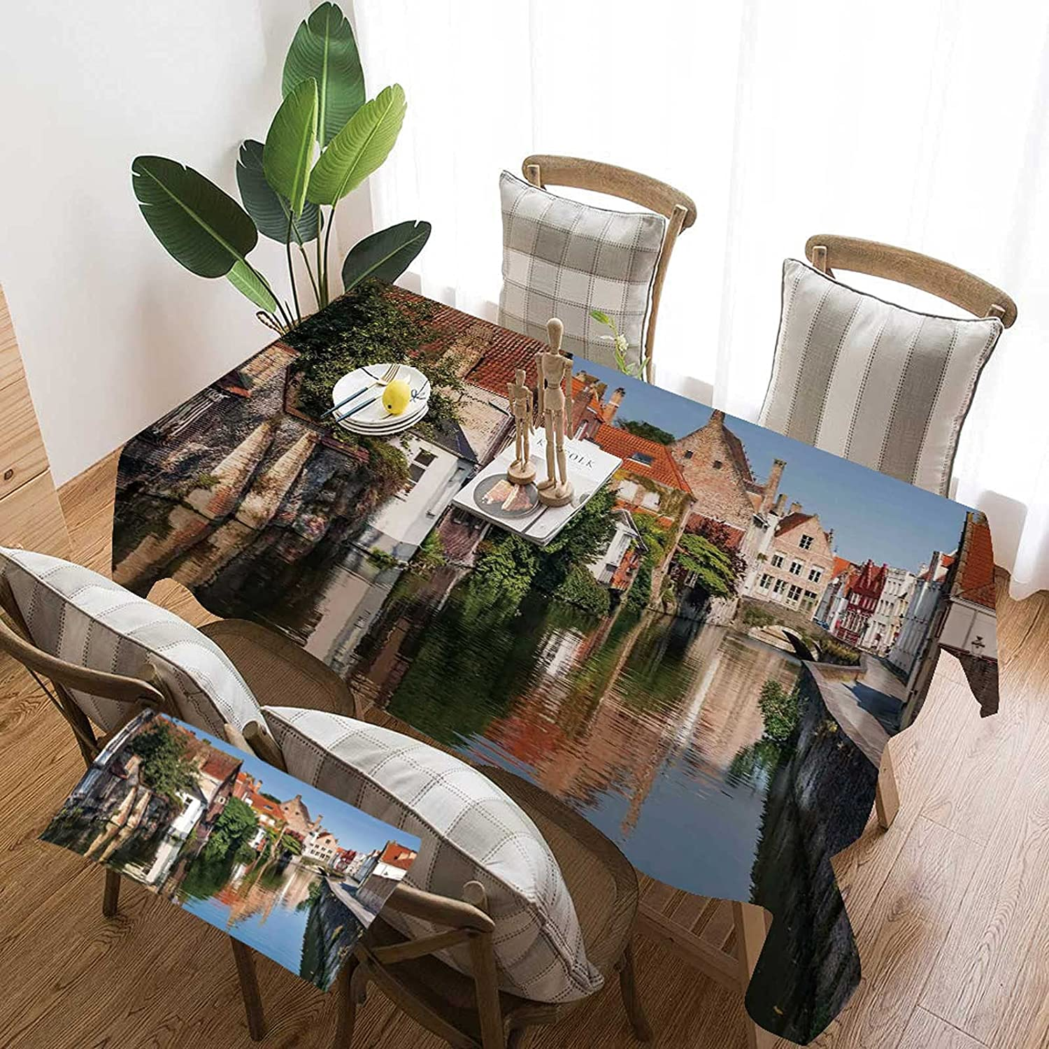 Cityscape Rectangular Table New Free Shipping Cover 70 with x Scenery 90 InchVivid Max 87% OFF