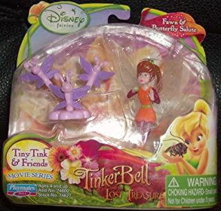 Disney Fairies Tiny Tink & Friends Fawn & Butterfly Salute