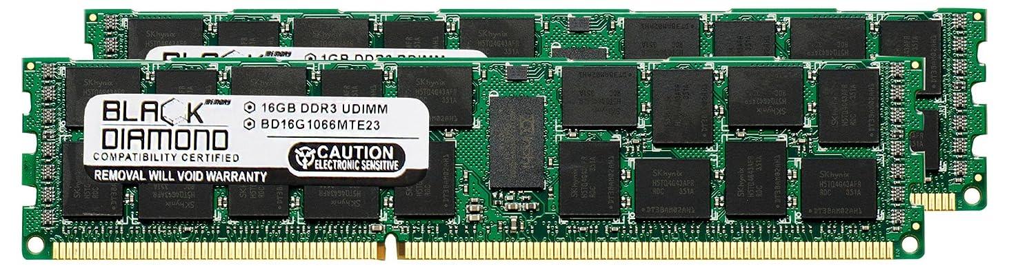アライメント導入する学校の先生32GB 2X16GB Memory RAM for Compaq ProLiant SL390s G7 (626448-B21) Black Diamond Memory Module 240pin PC3-8500 1066MHz DDR3 ECC Registered RDIMM Upgrade