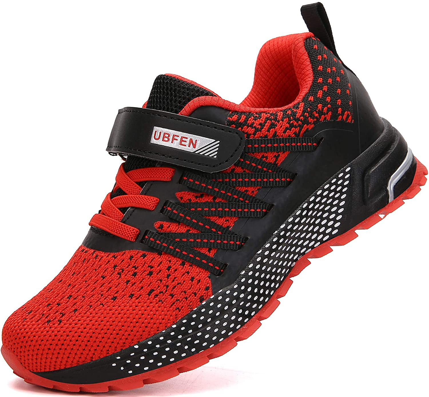KUBUA Kids Sneakers for Boys Girls Running Tennis Shoes Lightweight Breathable Sport Athletic