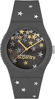 Superdry Urban Star Analogue Grey Dial Grey Silicon Watch For Women - SYL275E