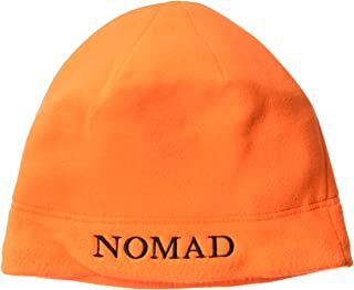 Nomad Men's Fleece Beanie, Blaze Orange, One Size