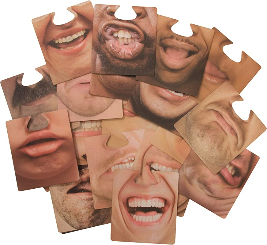 Hilarious Face Mask Drink Coasters Novelty Party Favors 20 Pack