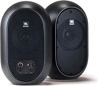 JBL プロフェッショナル 104-BT-Y3 パワード 2Way フルレンジ・スタジオモニター スピーカー 3年保証モデル アンプ内蔵 30W+30W高出力 Bluetooth5.0対応 (ブラック)