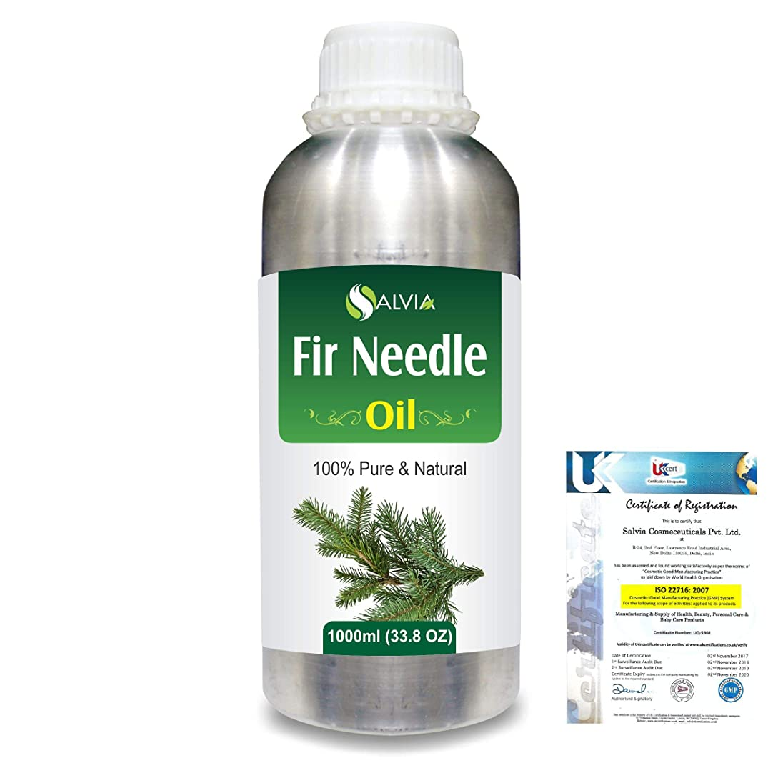 砂の思いやりのある反抗Fir Needle (Abies balsamea) 100% Natural Pure Essential Oil 1000ml/33.8fl.oz.
