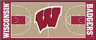 "Sports Licensing Solutions, LLC Wisconsin Basketball Court Runner 30""x72"""