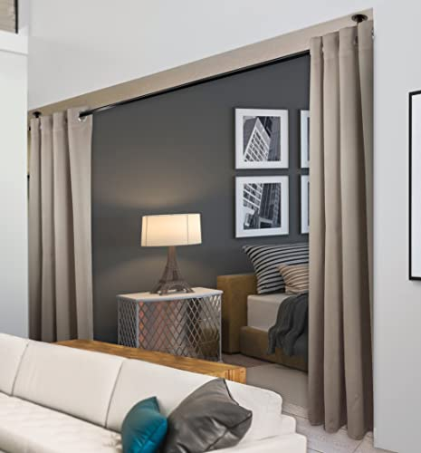 """high quality Rod high quality Desyne Window Thermal Isulated Blackout Curtain with Metal Grommet, 96"""" x 108"""", Beige - 1 2021 Panel outlet sale"""