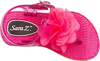 Sara Z Toddler Girls Vegan Sandals