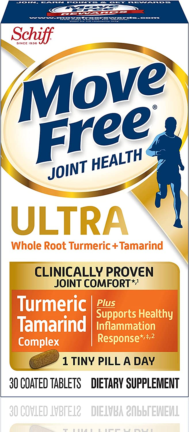 Move Free Turmeric Tamarind Many popular brands Ultra Health Joint Purchase Supplement 30
