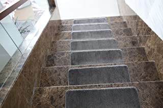 Best carpet and wood stairs grey Reviews
