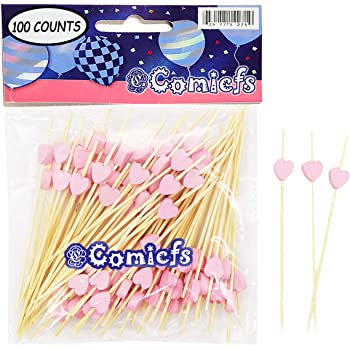 Beistle 60319 Its A Girl Pink//White 50 Picks In Package 2.5 2.5 Picks